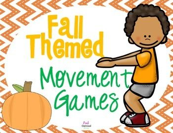 Easy games to incorporate into stations, use as brain breaks, free time, or for the kiddos that are done with their work early. Use in Special Education, OT, PT, Speech or PE. Have fun! Children who are given the opportunity to move tend to have better academic achievement, better school attendance and fewer disciplinary problems. ...