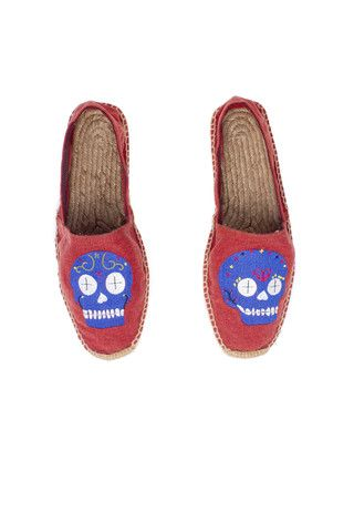 The Old House Mexican Skull Espadrilles