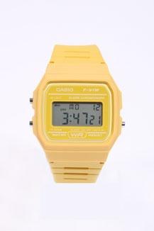 Casio Casual Yellow Digital Watch: Digital Watch