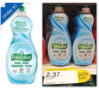 Palmolive Dish Soap, Only $0.62 at Target!