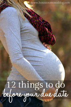 A checklist of things to accomplislh before baby arrives by Jana, Houston Moms Blog contributor.