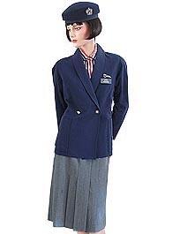 British Airways uniform 1985-1992