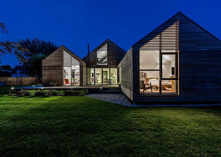 21 best Construire en bois images on Pinterest Contemporary - calcul surface facade maison
