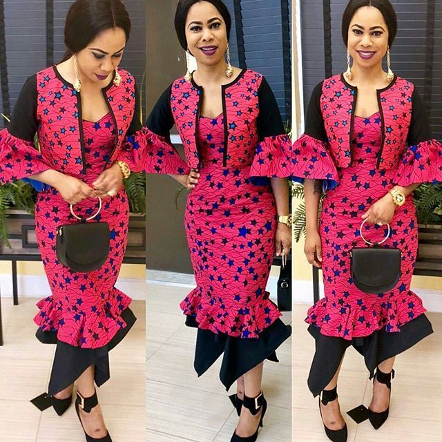 Howdy ladies, this is a new collection with varieties of ankara styles that are now trending this 2018. These fashionable ankara styles will make you blow minds in your hood, check them out and you can select, then rock the ones you love best. Ankara styles have taken a more beautiful turn, all you have to do is dream it and have your fabric carved into fabulous designs. #ankaragownpictures #ankaragownstylesinnigeria #ankaralonggownpictures #ankarashortgownstyles #anka