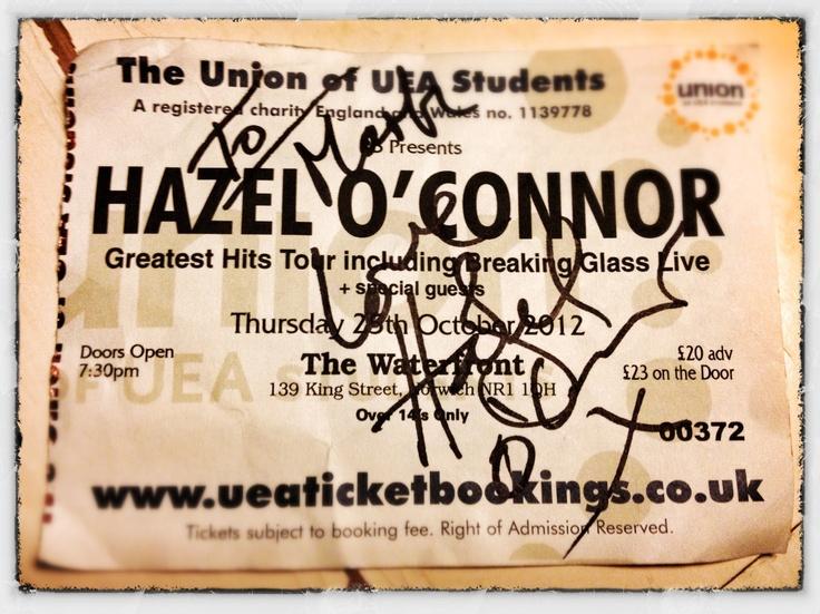 Hazel O'Conner