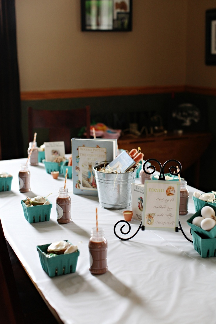 72 best Beatrix Potter Peter Rabbit Birthday or Baby Shower images ...
