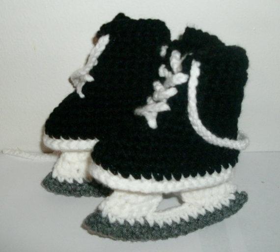 Free Crochet Pattern Baby Hockey Skates : 17 Best images about Botas en crochet on Pinterest