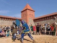 Средневековые игры в Лидском замке