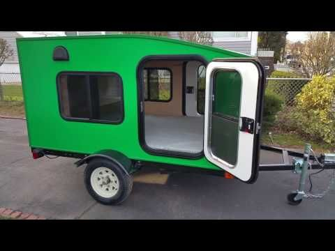 My Mini Trailer, Most Affordable Mini Camper Trailer, Model Serenity X - YouTube