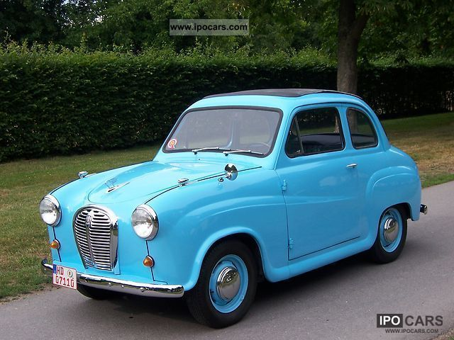 1958 Austin A35 - LHD - Two-Door Saloon Small Car, Mum & Dad had one, but in black!