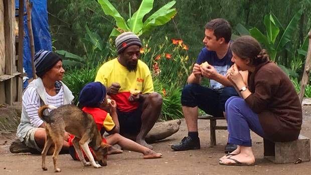 Vizita în junglă - familia Taciuc