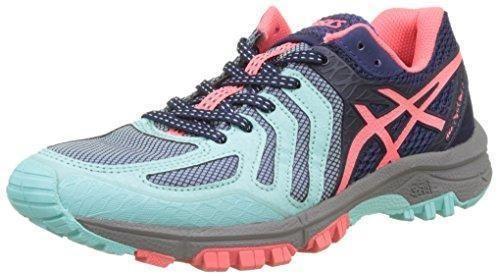 Oferta: 95.07€. Comprar Ofertas de Asics Gel-Fujiattack 5, Zapatillas de Trail Running para Mujer, Varios Colores (Aqua Splash / Diva Pink / Indigo Blue), 39 EU barato. ¡Mira las ofertas!