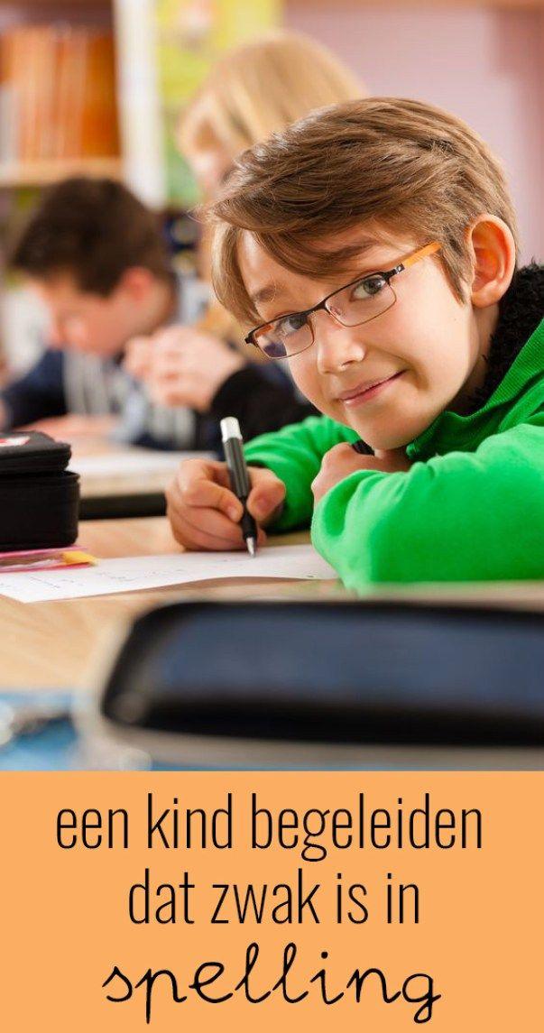 Hoe begeleid je een kind dat zwak is in spelling? https://klasvanjuflinda.nl/leren/spelling-leren/5779/hoe-begeleid-je-een-kind-dat-zwak-is-in-spelling/
