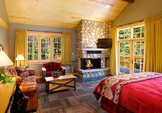 Alpine village jasper cabin rental in jasper national park for Jasper luxury cabins