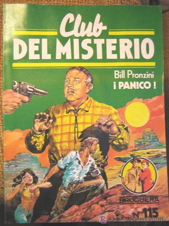 Coleccion de libros policiacos Club del Misterio editorial Bruguera España años 80s.