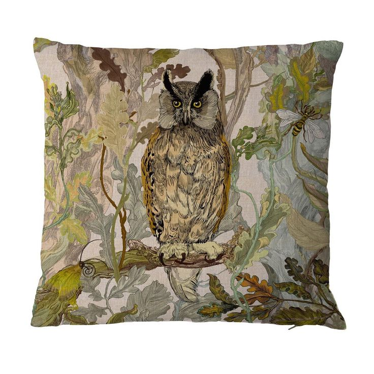 Long-Eared Owl cushion