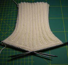 http://ru-knitting.livejournal.com/1734442.html МК воротника гольф
