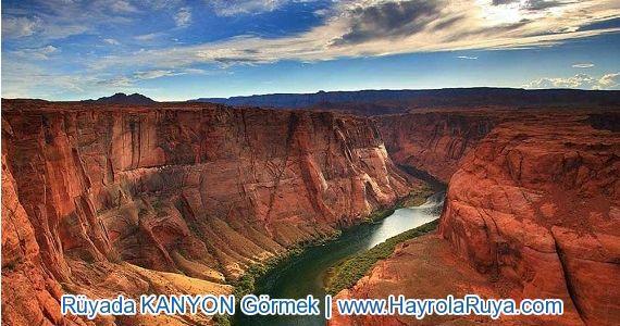 Rüyada Kanyon Görmek rüyada kanyonda yüzmek ruyada kanyonda yurumek rüyada büyük kanyon görmek rüya tabirleri kanyon rüyada kanyon vadi görmek rüyada derin vadi görmek