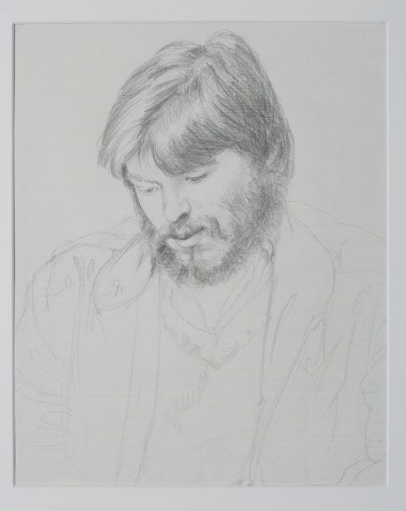 Sandra Fisher Joey 1982  pencil on paper, 13 x 10-1/2 inches  Private Collectionj (c) Estate of Sandra Fisher