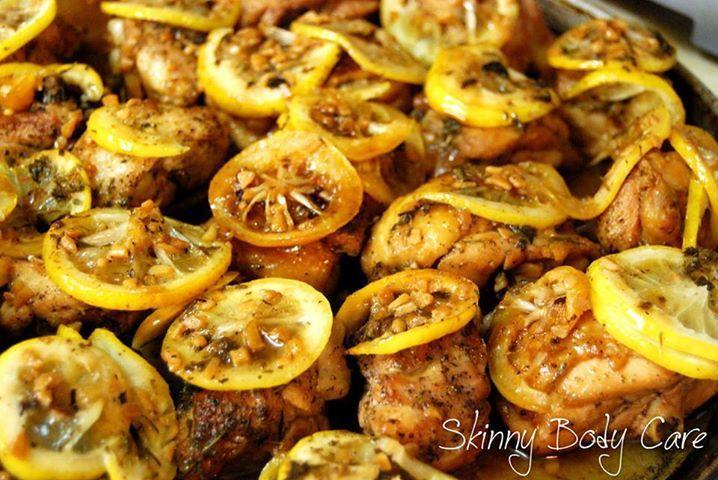 Gordon Ramsay's Sticky Lemon Chicken.