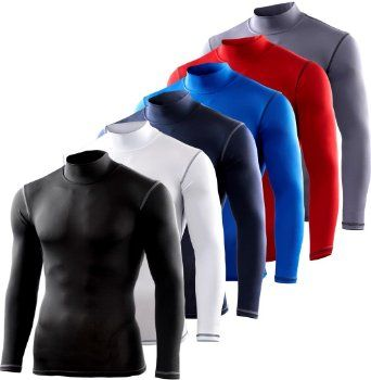 Power Layer gentlemen child baselayer compression shirt Armour Compression Long Sleeve Top Skins: Amazon.de: Sport & Leisure