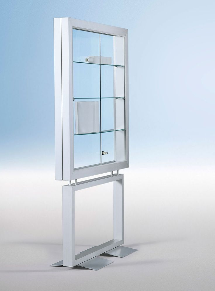 schmale standvitrine fuer ausstellungstuecke bis 12 cm tief vitrine