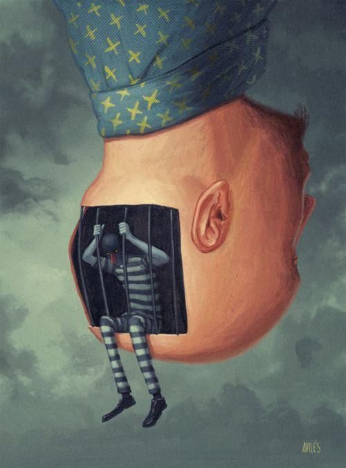 Mindcage by Rodrigo Aviles