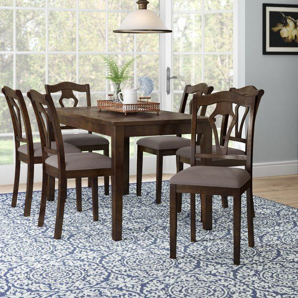 Youll Love The Hofer 7 Piece Dining Table Set At Wayfair