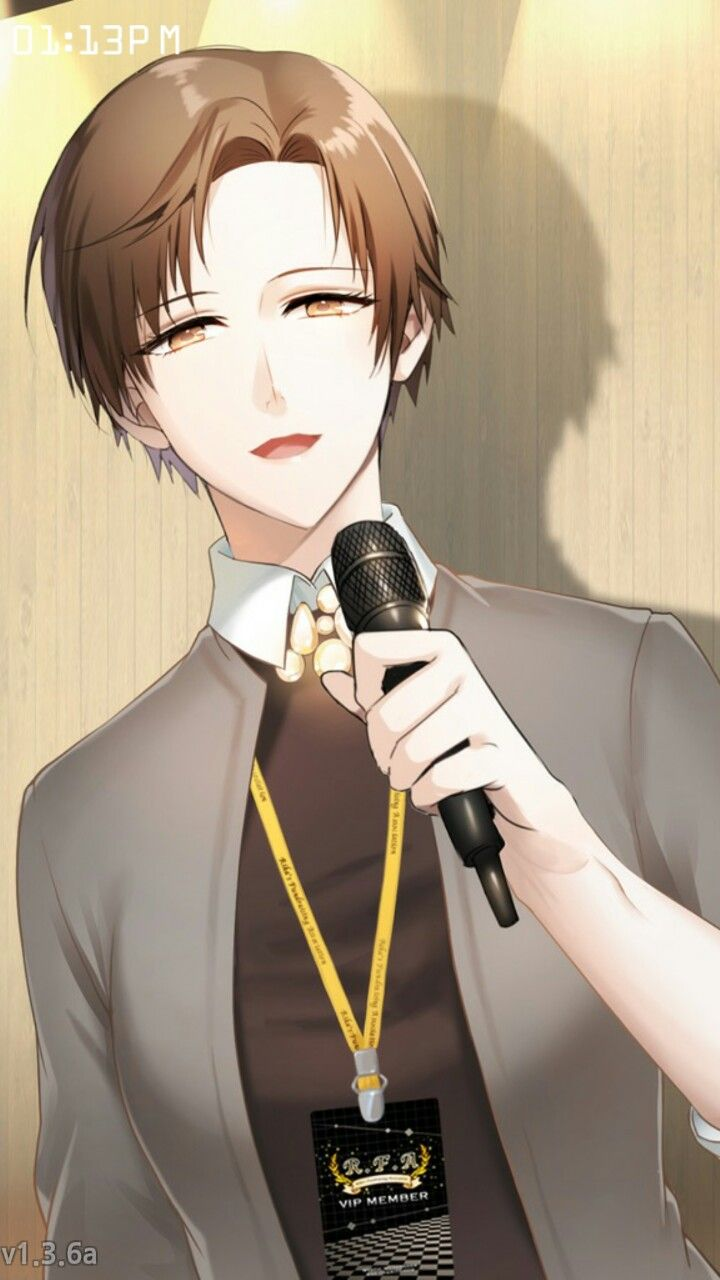 """Jaehee at the party, saving """"me"""" from being recruited by Jumin as the new assistant xD"""