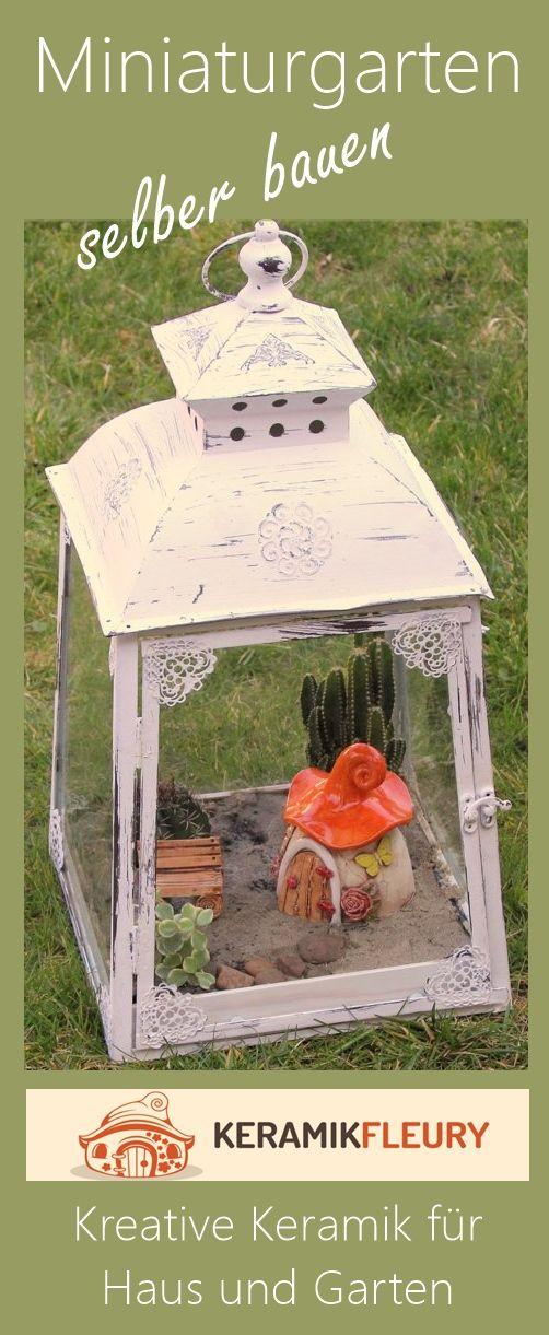 Miniaturgarten selber bauen