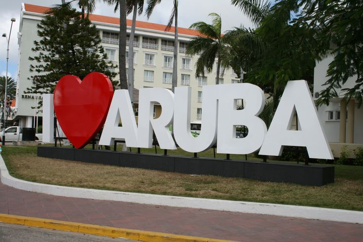 I Love Aruba! This sign is an Absolute photo op!! How Appropriate!!