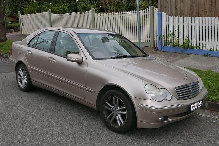 File:2002 Mercedes-Benz C 180 Kompressor (W 203 MY03) Elegance sedan (2015-07-09) 02.jpg