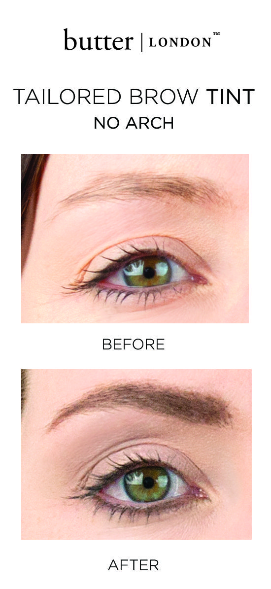 You're never fully dressed without a proper brow. Our Tailored Brow Tint is lightweight and loaded with pigment to give you the look of fuller brows that last all day. This all-in-one product delivers colour while grooming with our custom micro spoolie applicator. Groomed, refined brows have never been so easy.