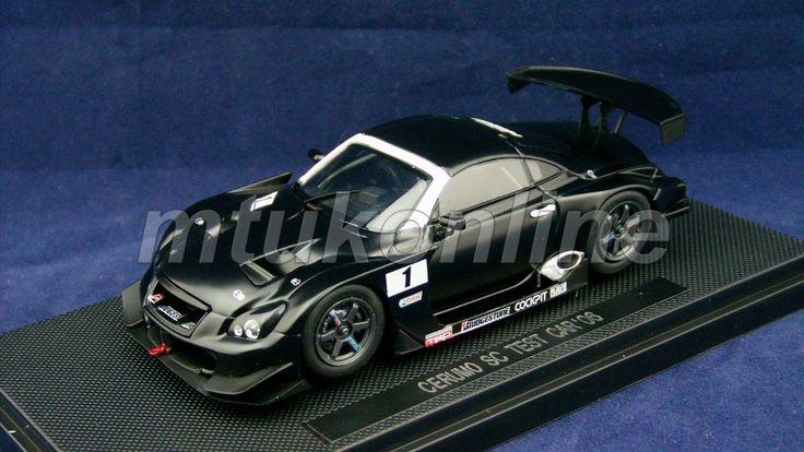 EBBRO 2006 | CERUMO SC TEST CAR 2006 | 1/43 | SUPER GT500 OFFICIAL EDITION