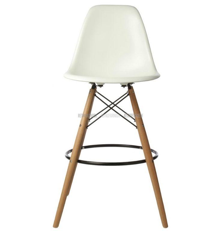 DSW ABS Barkruk geinspireerd door Charles Eames - Replica design meubelen