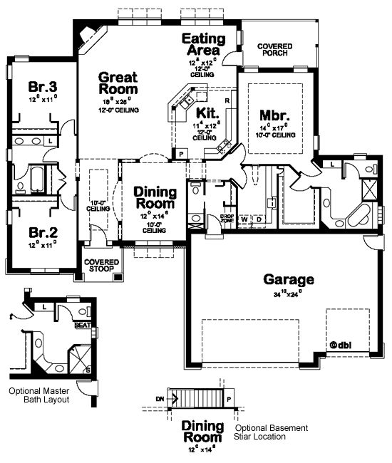 1000 ideas about traditional home plans on pinterest for Small icf house plans