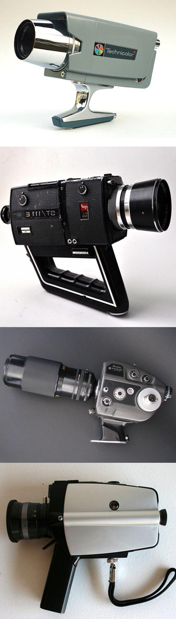 Super 8 Camera ( 1960's / 1970's Technicolor / Chinon Gaf / Beaulieu ( vintage retro camera movie camera / cinema / film camera / super8 mm / motion picture camera )