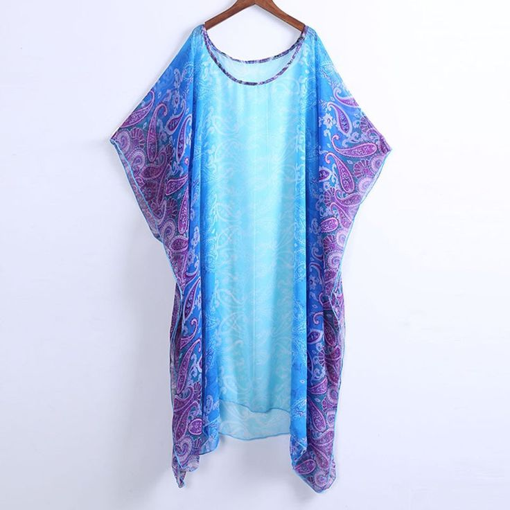 Tribal Printed Pareo Beach Dress – Blitchy