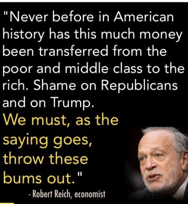 WHAT HAS HAPPENED TO OUR BEAUTIFUL COUNTRY? This Tax Bill is Awful and Every Intelligent Person knows it. Have we become so Mean, Hateful & Greedy that we stand by and allow Our Nation to be Torn Apart by Class, Race & Party? THIS is Shameful!!