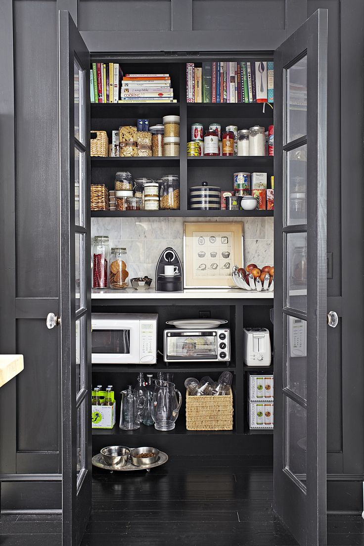 kitchen storage pantry neat trick for a family friendly kitchen counter space 3169