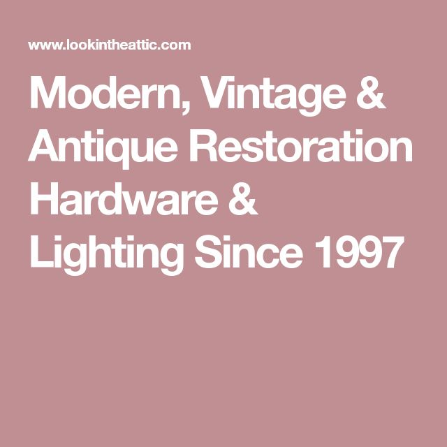 Restoration Hardware Modern: Best 25+ Restoration Hardware Lighting Ideas On Pinterest