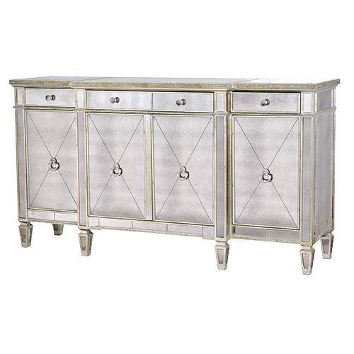 ABBONDIO MIRRORED SIDEBOARD