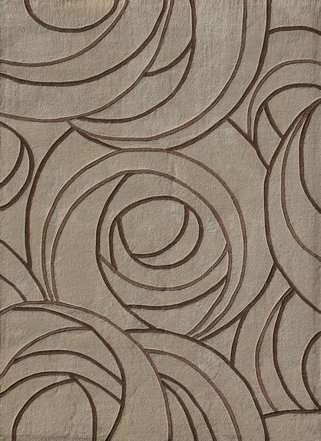 Charles Rennie Macintosh rose pattern rug... timeless