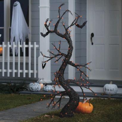 5 spooky tree halloween - Target Halloween Tree