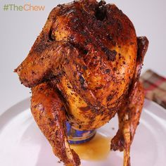 Beer Can Turkey by Michael Symon! #TheChew