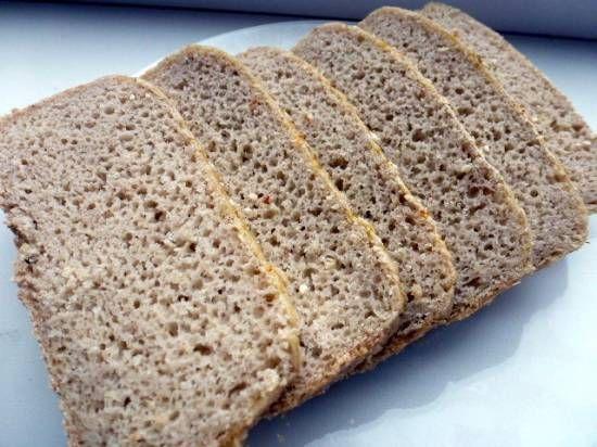 Хлеб без глютена в хлебопечке Брэнд