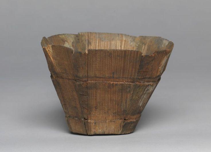 Daubenbecher (Becher aus Holzdauben)  Inventarnummer: HG12182 Datierung: wohl 15. Jahrhundert Ort: Süddeutschland; Nürnberg Material/Technik...