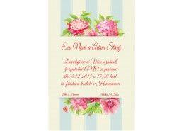 Svadobné oznámenie - SV042