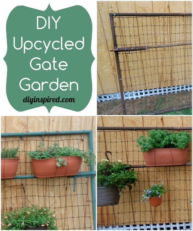 DIY Upcycled Garden Gates - DIY Inspired