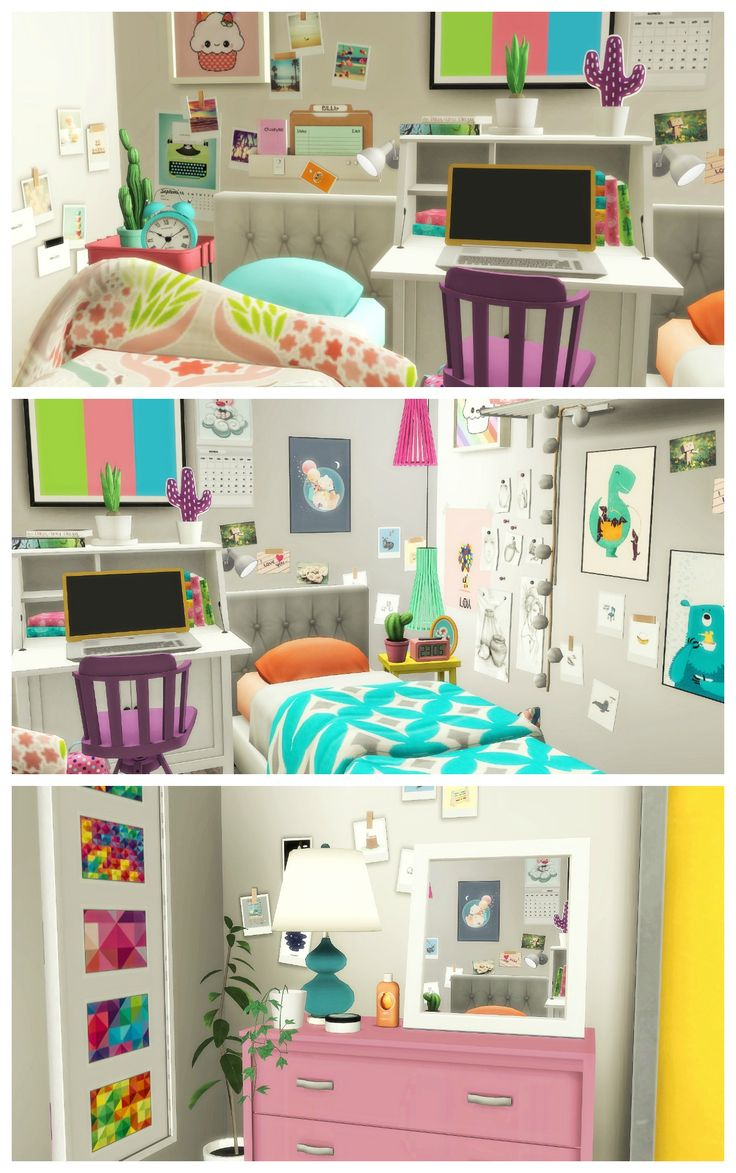 Tiny College Dorm List Sims Speed Build Amp More